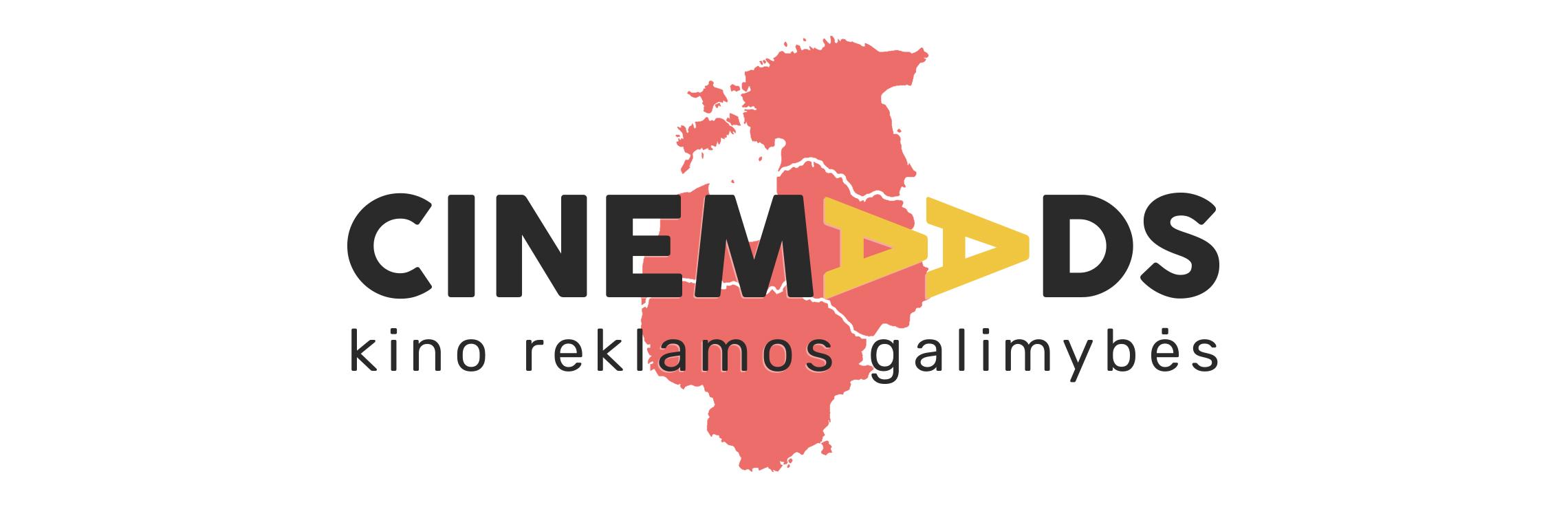 CinemaAds veikia visose baltijos šalyse